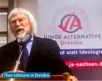 Evangelist Dr. Theo Lehmann bei AfD Jungendorganisation